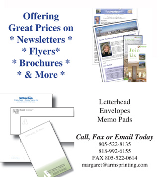 flyers, brochures and marketing tools from www.armsprinting.com
